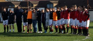 Erith 147 Sports observe a minutes silence in honour of Jim Hampson