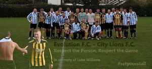Evolution FC and City Lions FC