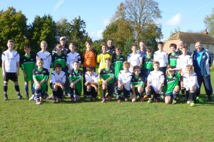 Faversham Town and Eythorne U13 7-300