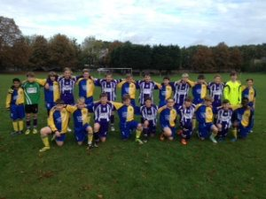Halls AFC and South Darenth U13-300