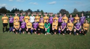 Maidstone Unted and Anchorians Ladies
