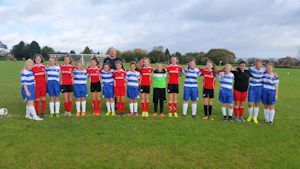Margate and Ridgeway u14 girls
