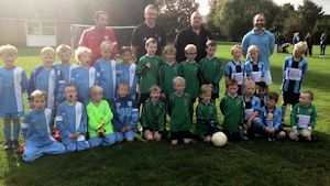West Kent Boro Green Barming Blues U8 autumn trophy 300